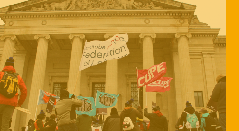We Stand Together with Students Against Bill 31